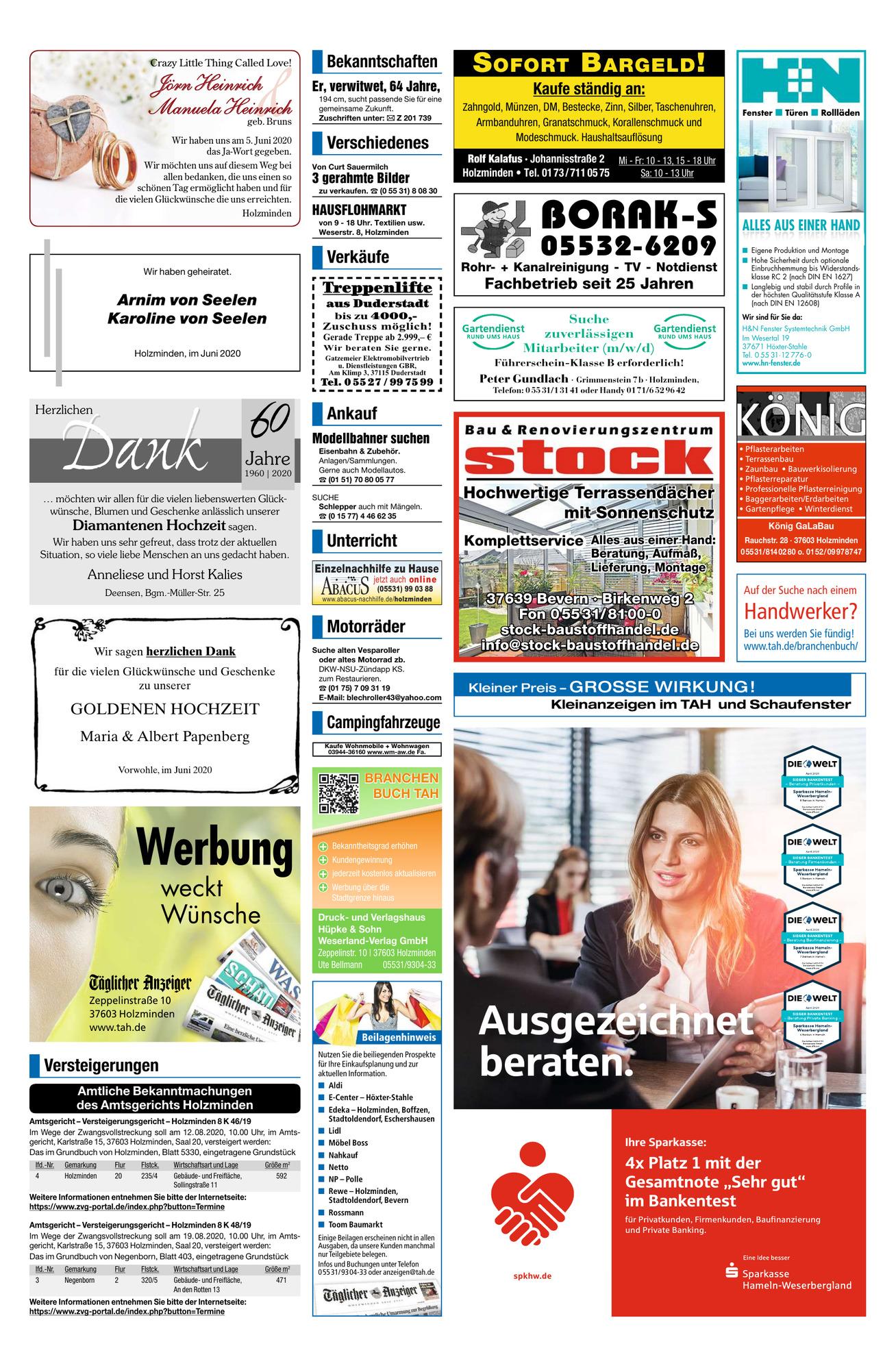 Täglicher Anzeiger Holzminden kündigen - so schnell geht's | blogger.com
